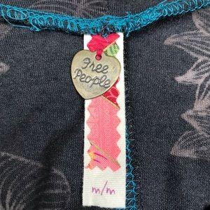 Free People Tops - Free People Floral Print Long Sleeve Top